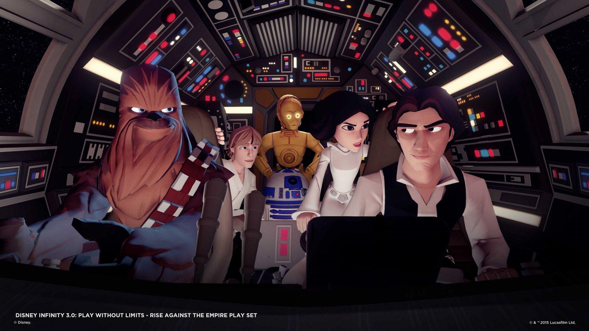 Disney Infinity 3.0 terá Star Wars, Divertida-Mente e outros.