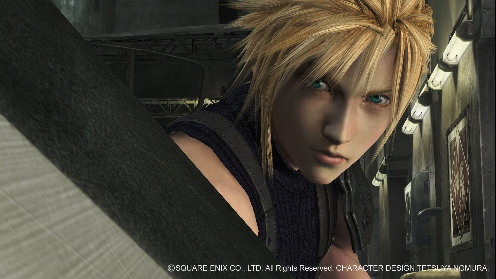 Square Enix lança vídeo do gameplay de Final Fantasy VII Remake