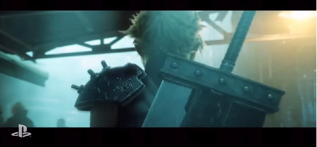 Remake de Final Fantasy VII anunciado pela Sony na E3.